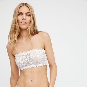 Free People Seamless and Lace Reversible Bandeau